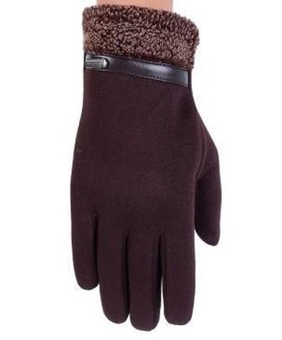 男女手套带扣手套