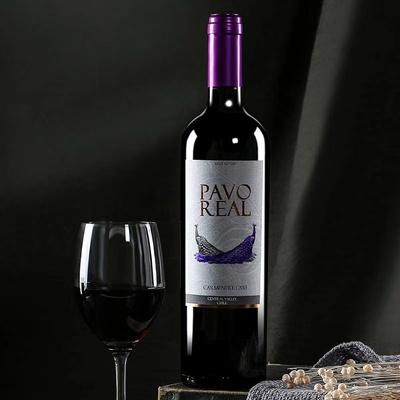 智利原装进口 瑞瓦娜 佳美娜半干红葡萄酒