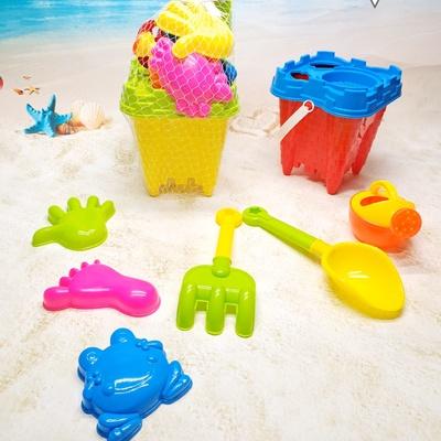 儿童沙滩玩具车沙漏套装组合挖沙铲子桶男女孩宝宝决明子玩沙工具688-804