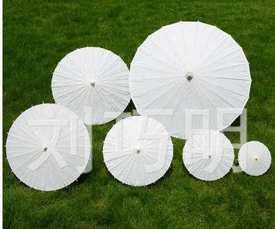 多规格白纸伞,具体尺寸价格请询13806795012